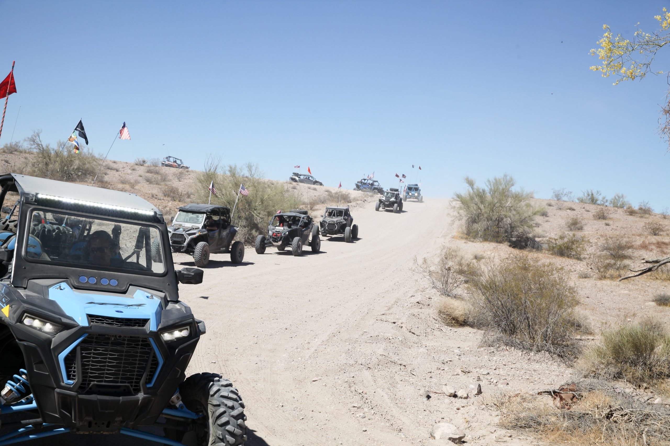 Veterans Treated To Honors From Havasu SXS Group