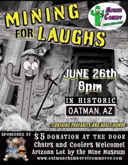Mining For Laughs in Oatman