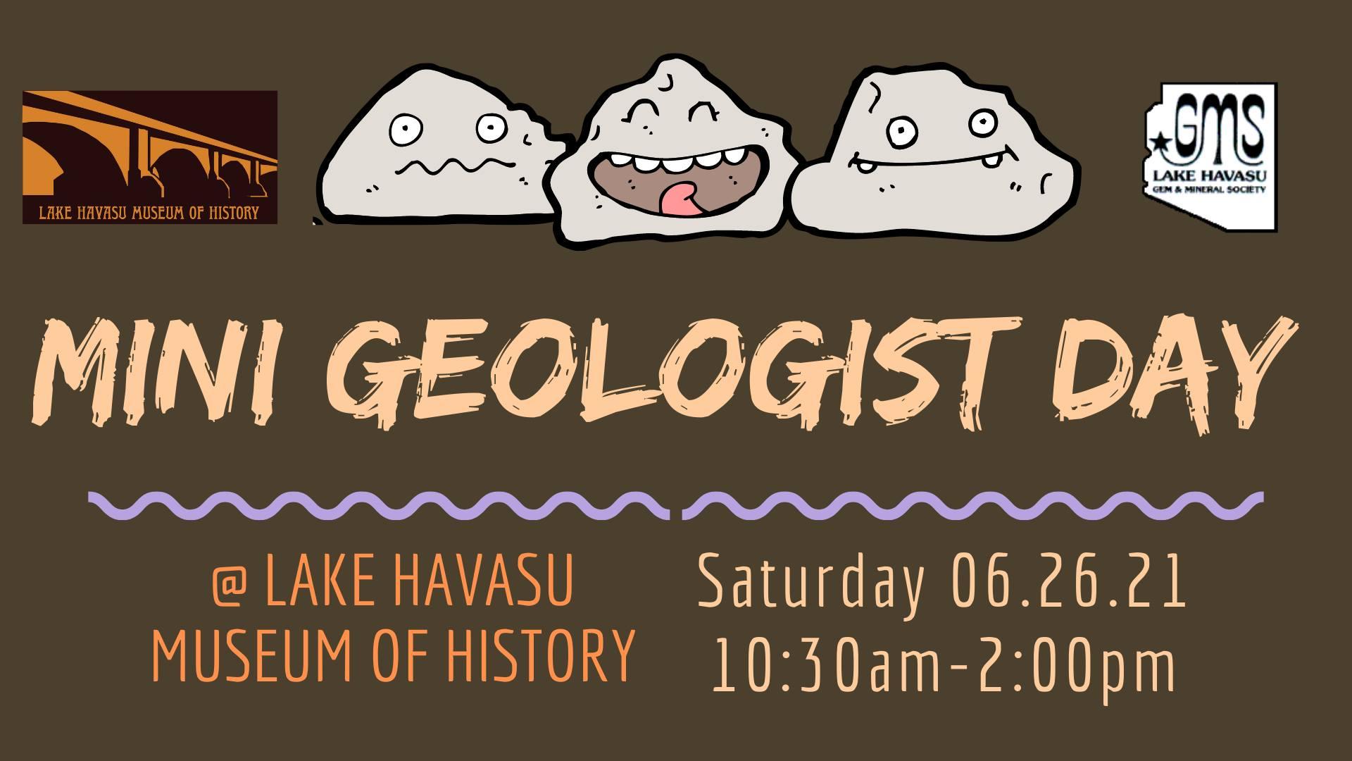 Mini Geologist Day