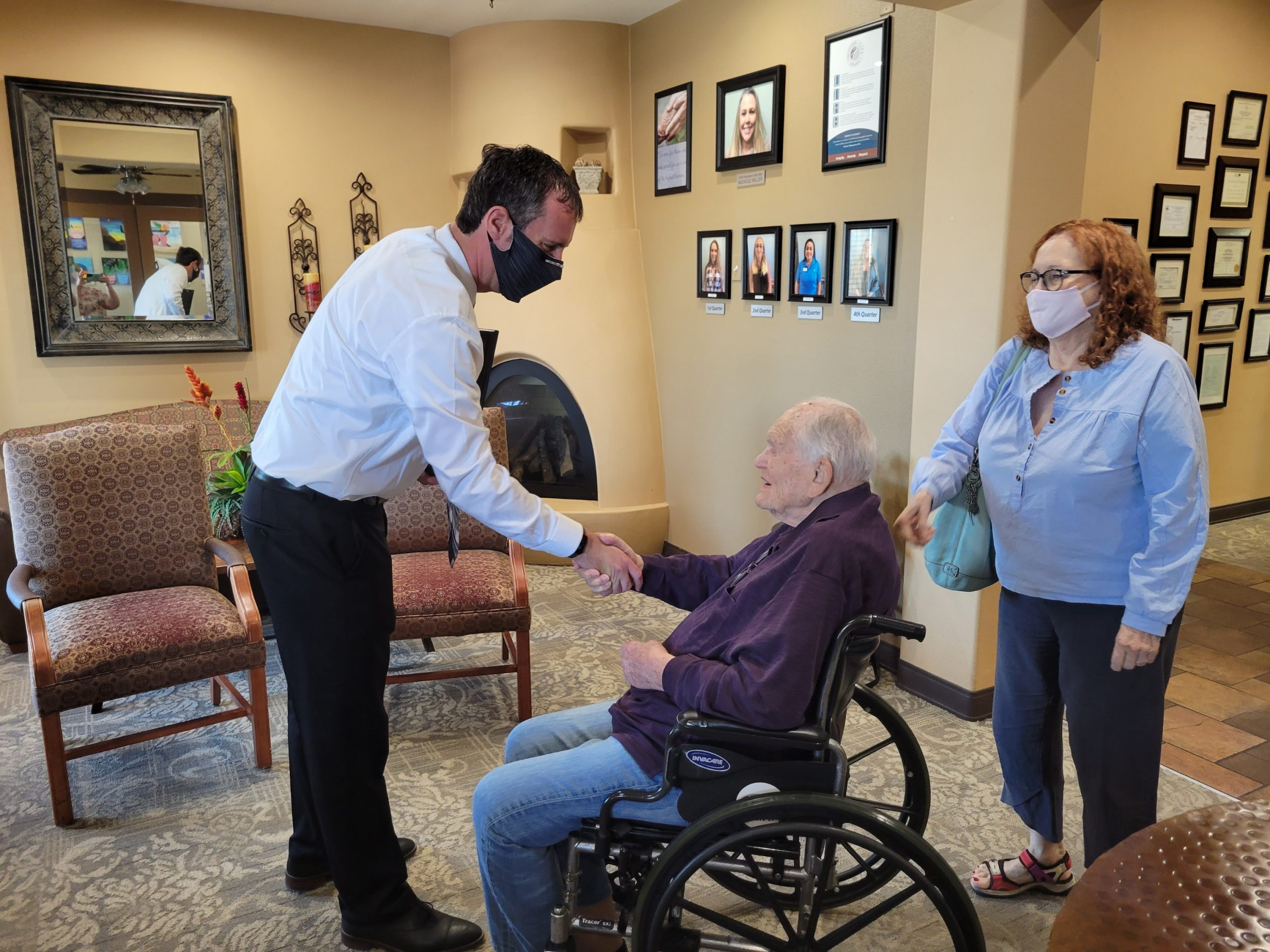 Local Man Turns 100 Years Old: Honored By Proclamation From Mayor