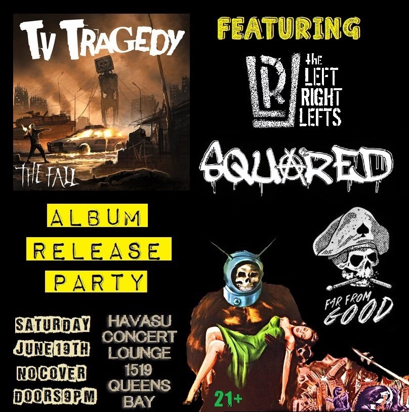 TV Tragedy Album Release Party