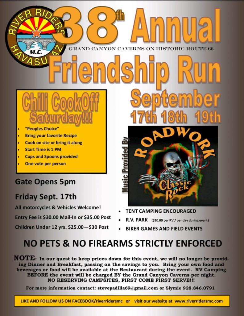 38th Annual Friendship Run