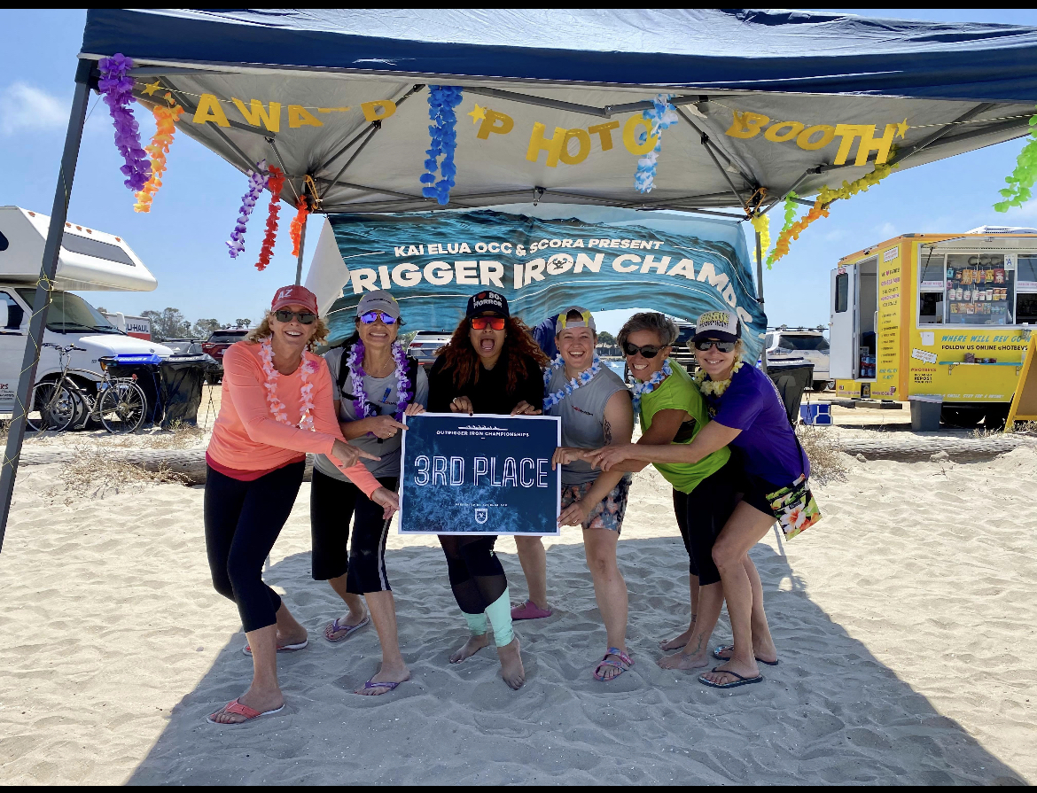 Havasu Outrigger Canoe Club Takes Third In Iron Champs Race In San Diego