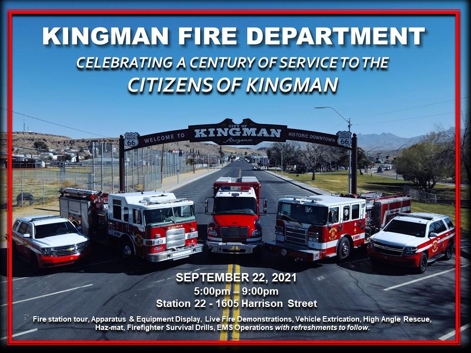 Kingman Fire Department Celebration