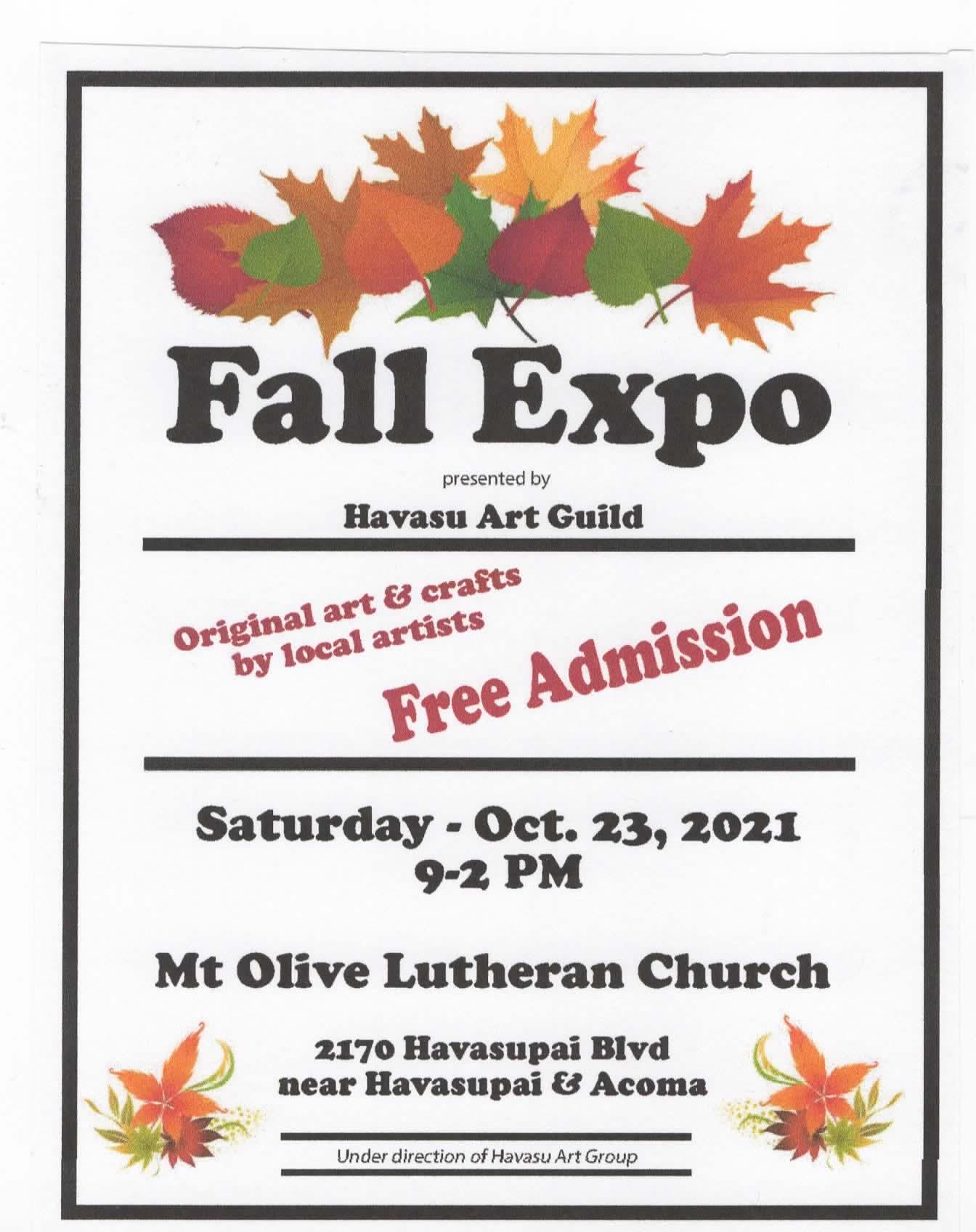 Havasu Art Guild Fall Expo
