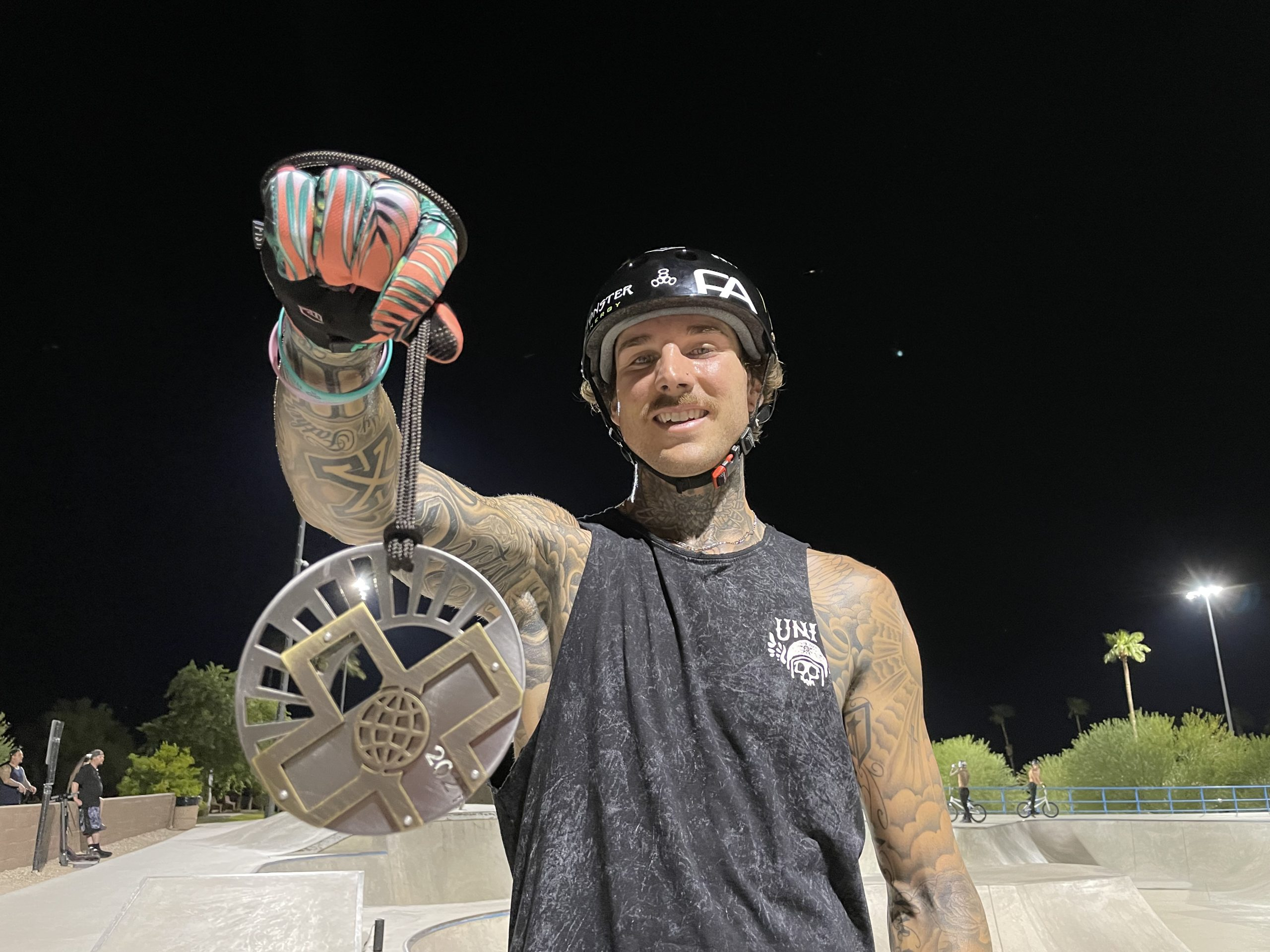 Havasu BMX Rider Brings Home The Hardware