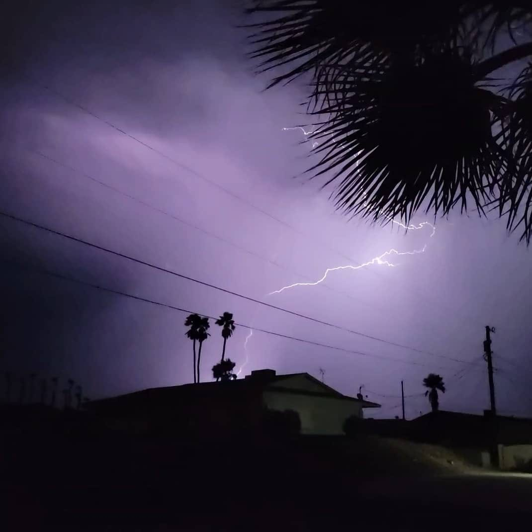 Mother Nature Put On A Show In Lake Havasu City