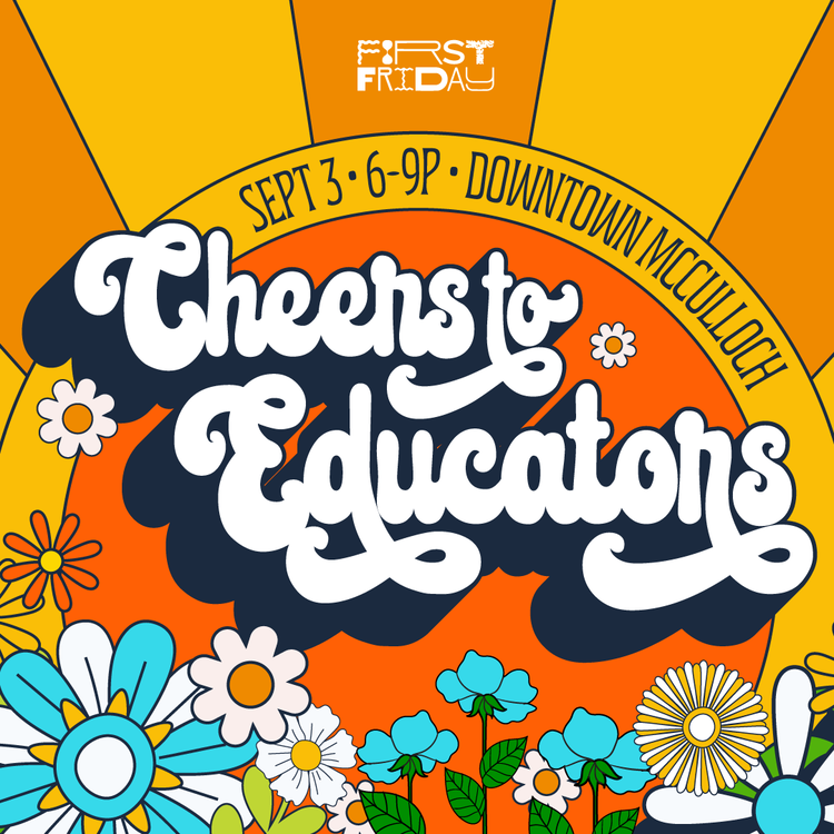 First Friday September Cheers To Educators