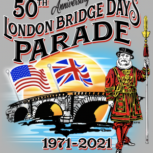50th Anniversary London Bridge Days Parade T-Shirts Available