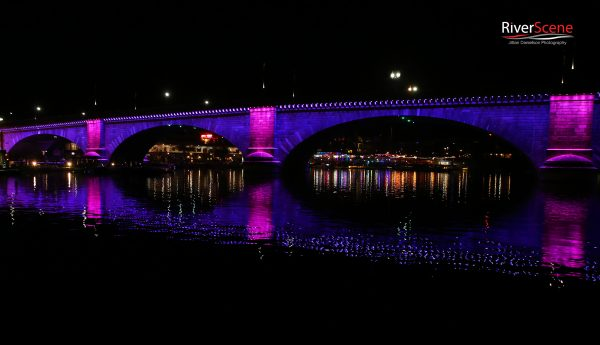 London Bridge Lights 1