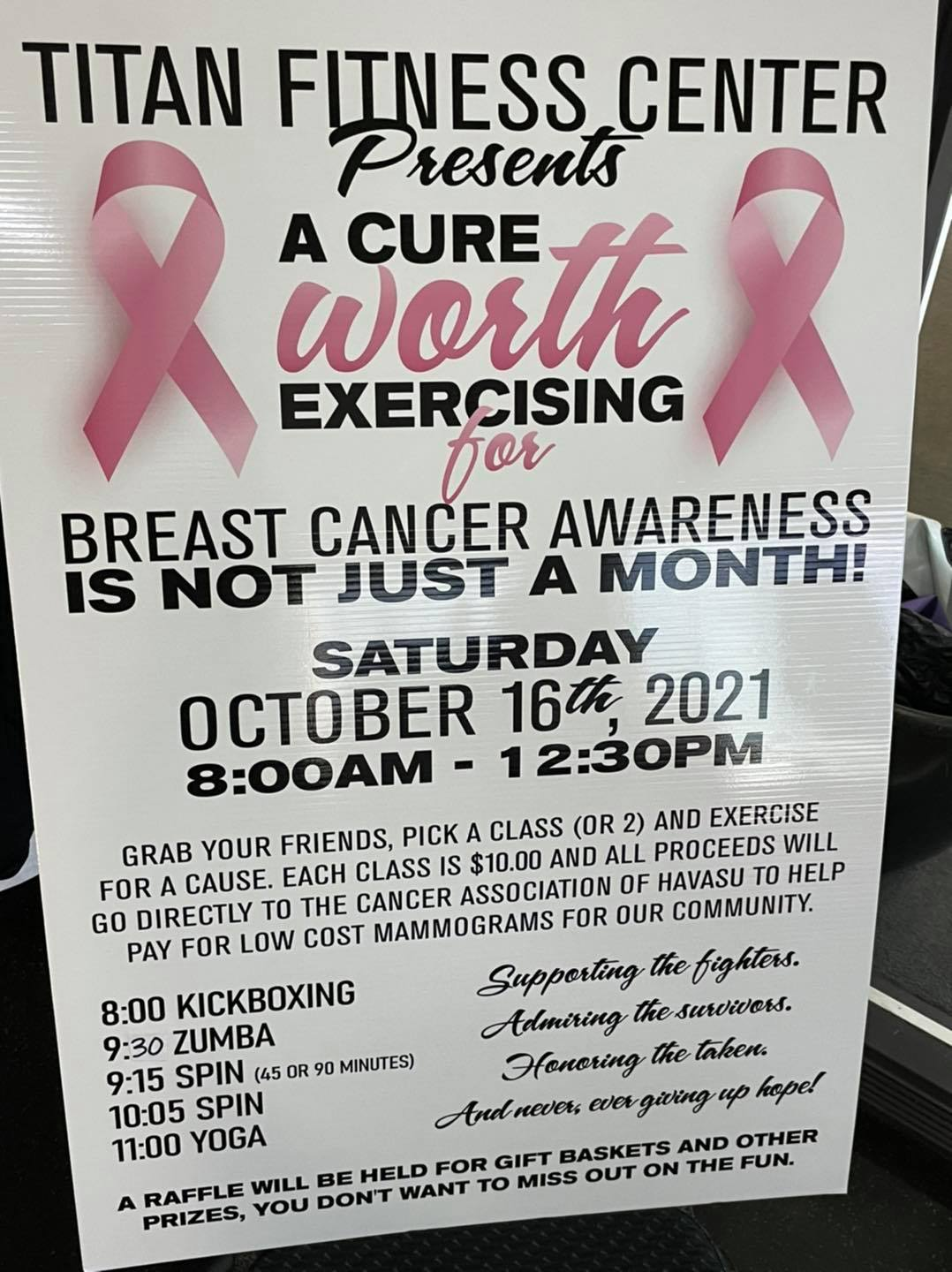 A Cure Worth Excersizing For
