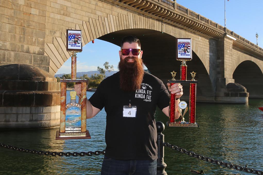 Tyler Rawson Wins Overall Beard And Mustache Contest