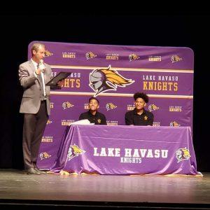 Lake Havasu High School Athletes Receive State Honor